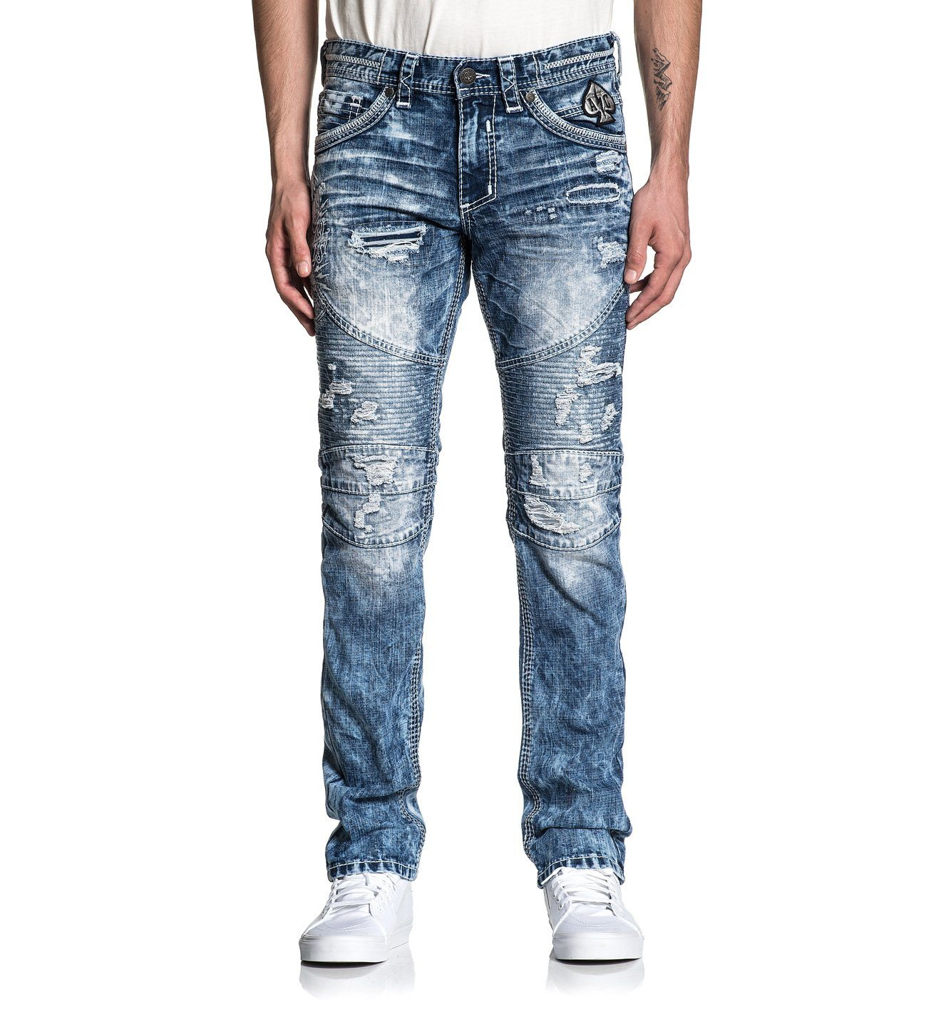 Gage Relent Fletch - Mens Denim Bottoms - Affliction Clothing