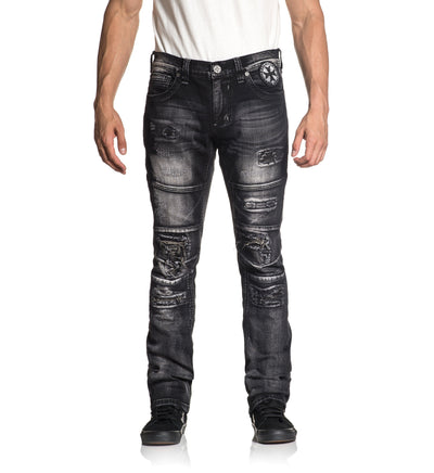 Gage Relent Major - Mens Denim Bottoms - Affliction Clothing