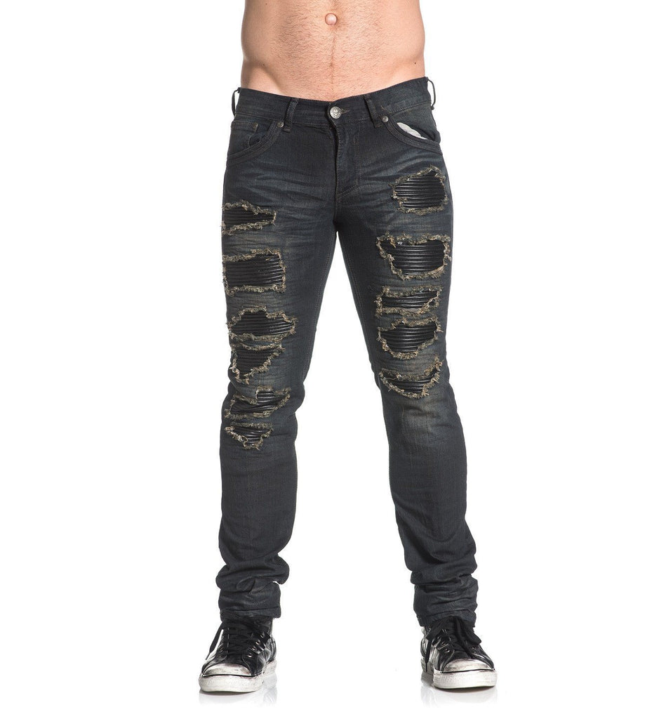 Mens Denim Bottoms - Gage Standard Greenville