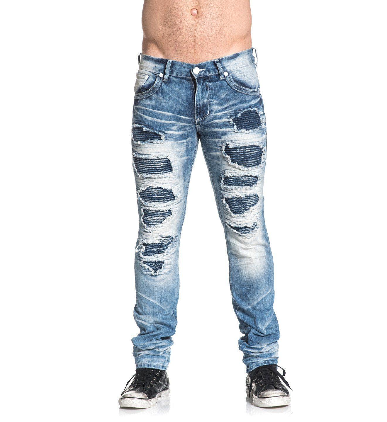 Mens Denim Bottoms - Gage Standard Trenton