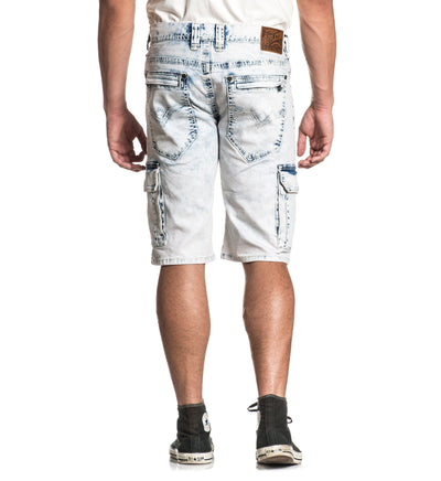 Hunter Fallen Fulton - Mens Denim Bottoms - Affliction Clothing