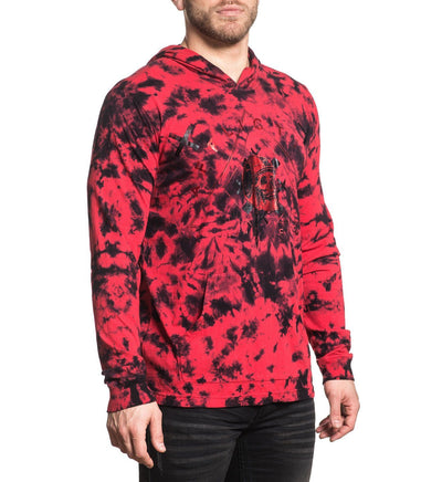 Ac Reckless Hood - Mens Hooded Sweatshirts - Affliction Clothing