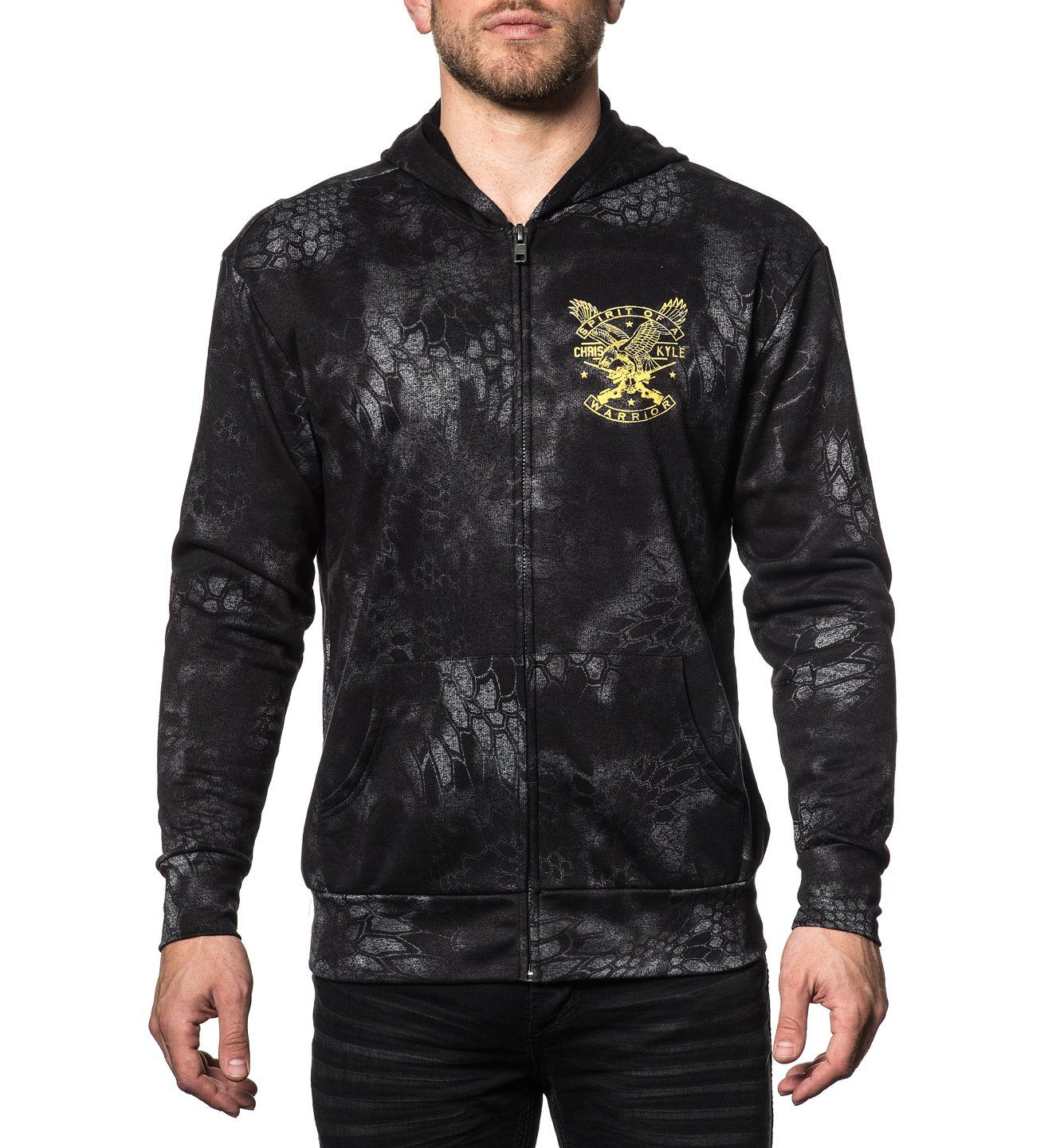 Ck Freedom - Mens Hooded Sweatshirts - Affliction Clothing