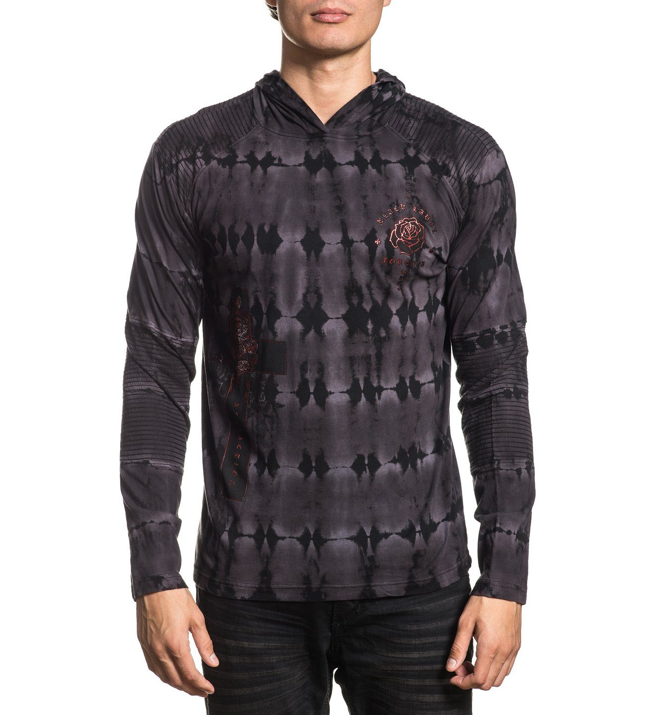 Cross Of Souls - Mens Hooded Sweatshirts - Affliction Clothing