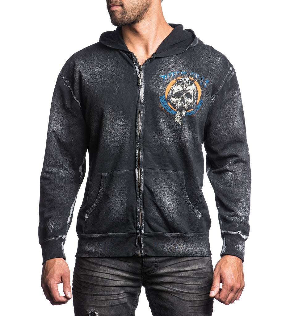Mens Hooded Sweatshirts - Head Hunter