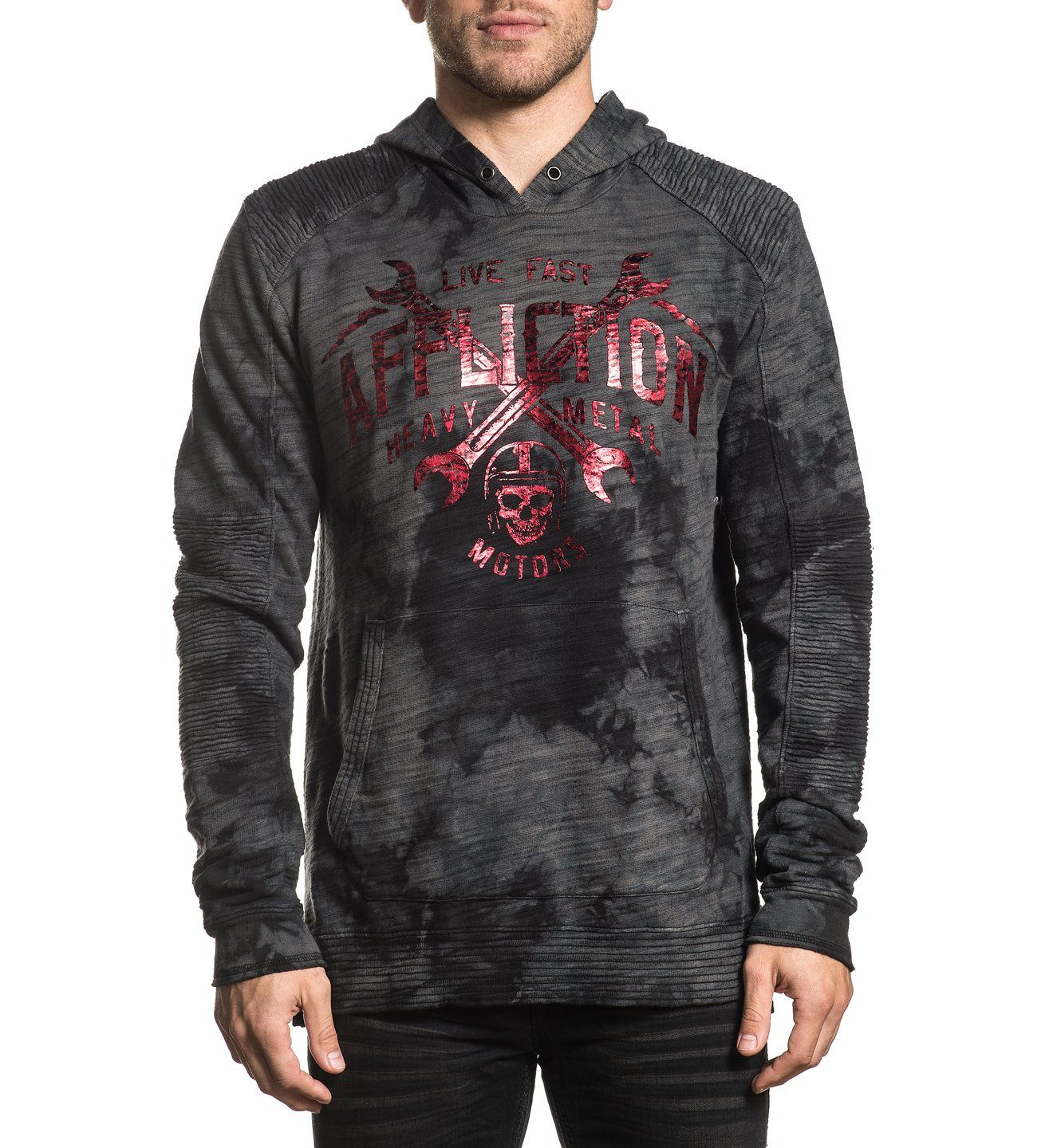 High Speed Weld - Mens Hooded Sweatshirts - Affliction Clothing