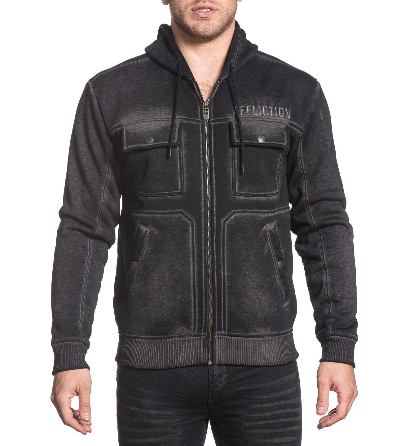 Invasion - Mens Hooded Sweatshirts - Affliction Clothing