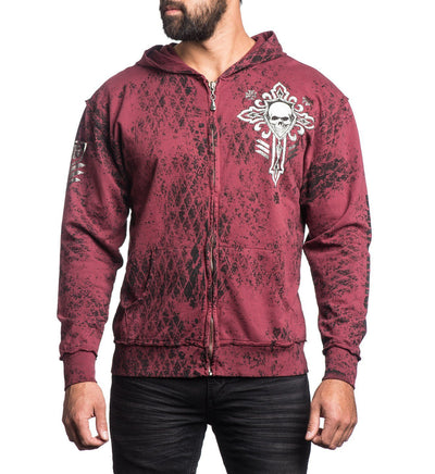 Mens Hooded Sweatshirts - Thunderstorm