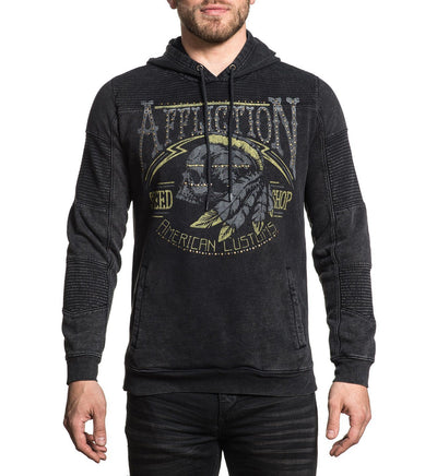 Tradition Speed - Mens Hooded Sweatshirts - Affliction Clothing