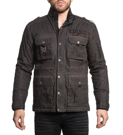 Abandon Town - Mens Jackets - Affliction Clothing