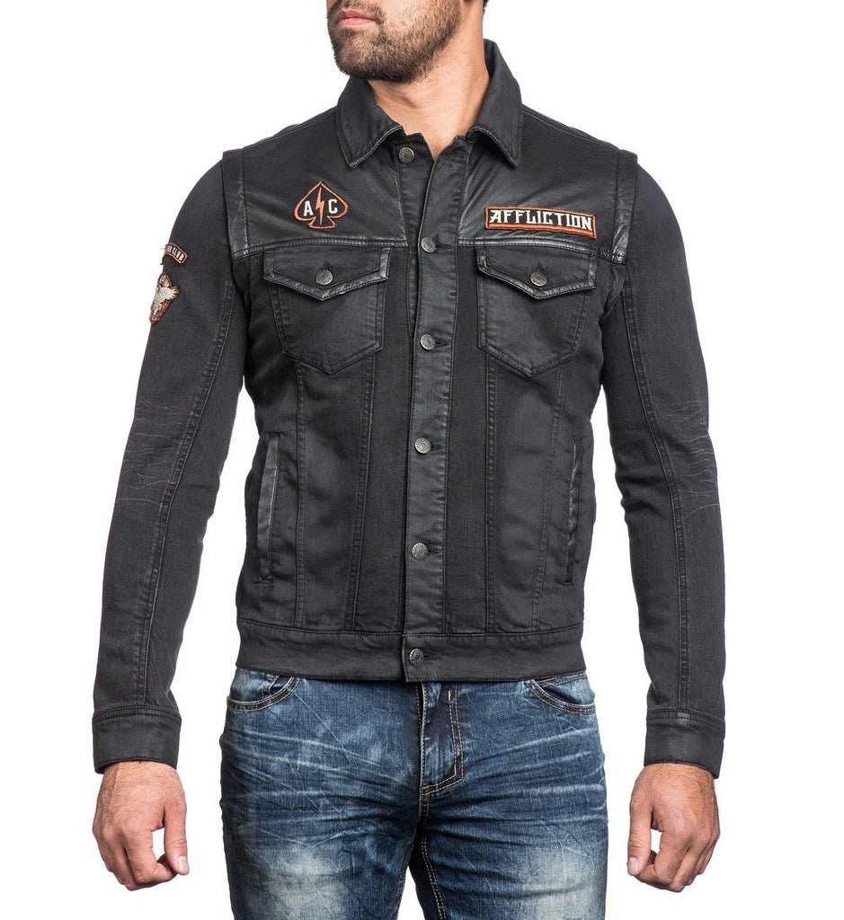 Mens Jackets - Bike Cutter