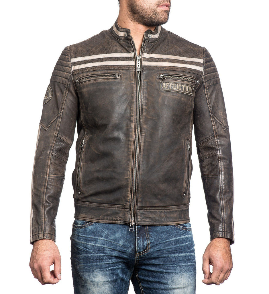 Mens Jackets - Black Skull
