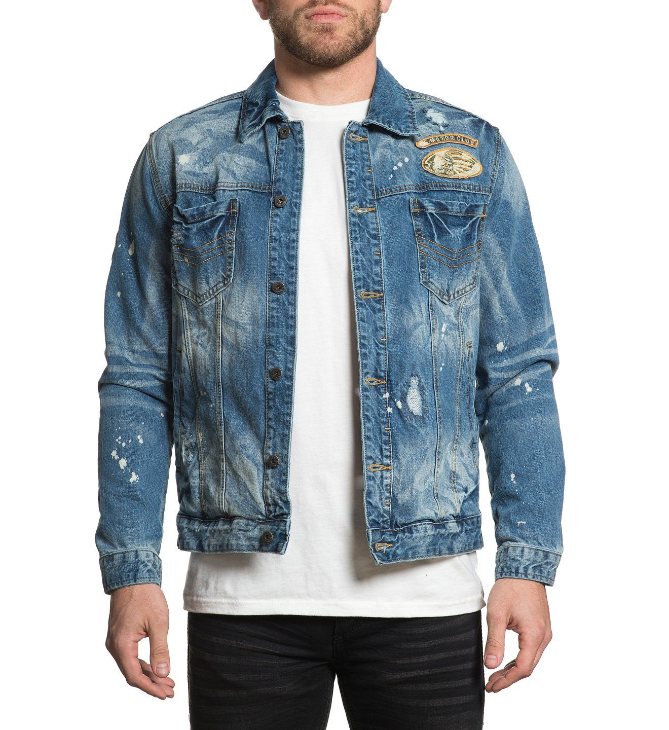 Cam Jacket - Mens Jackets - Affliction Clothing