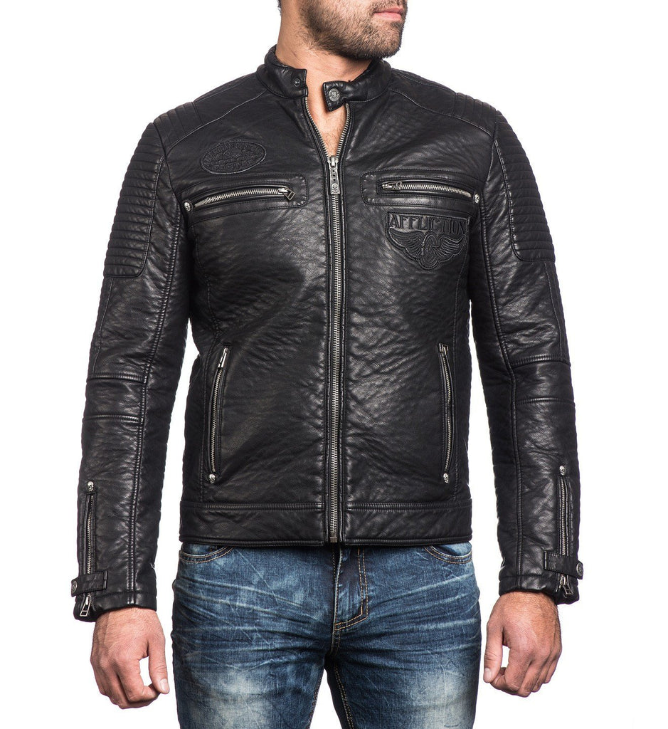 Mens Jackets - Dusty Metal
