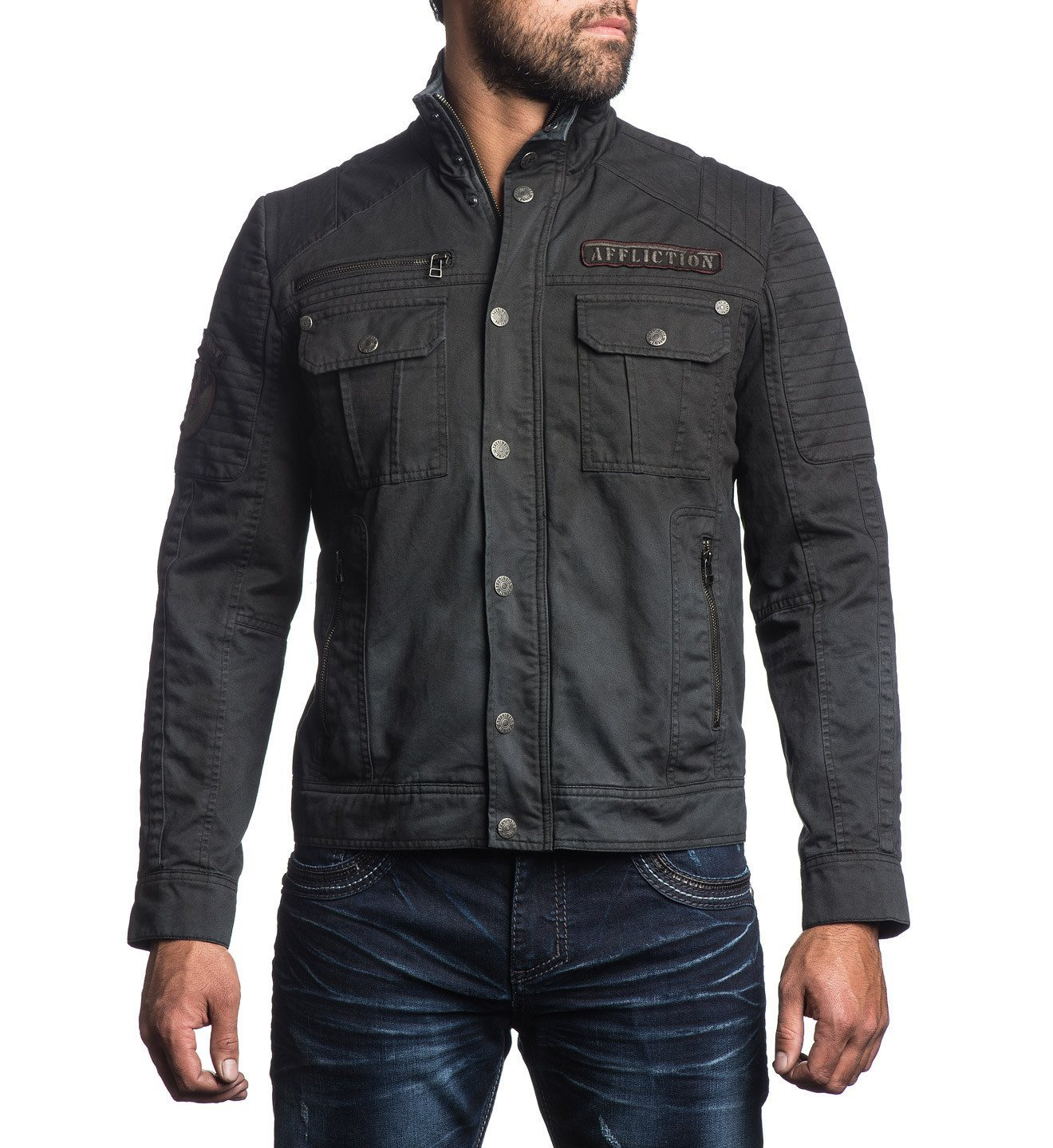 Dusty Trail - Mens Jackets - Affliction Clothing