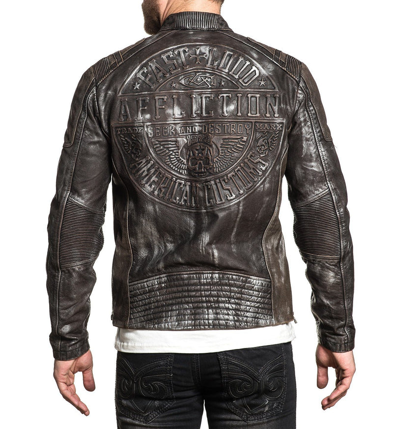 1360b0ac8 Affliction Leather Jackets - Shop Leather Jackets Online ...