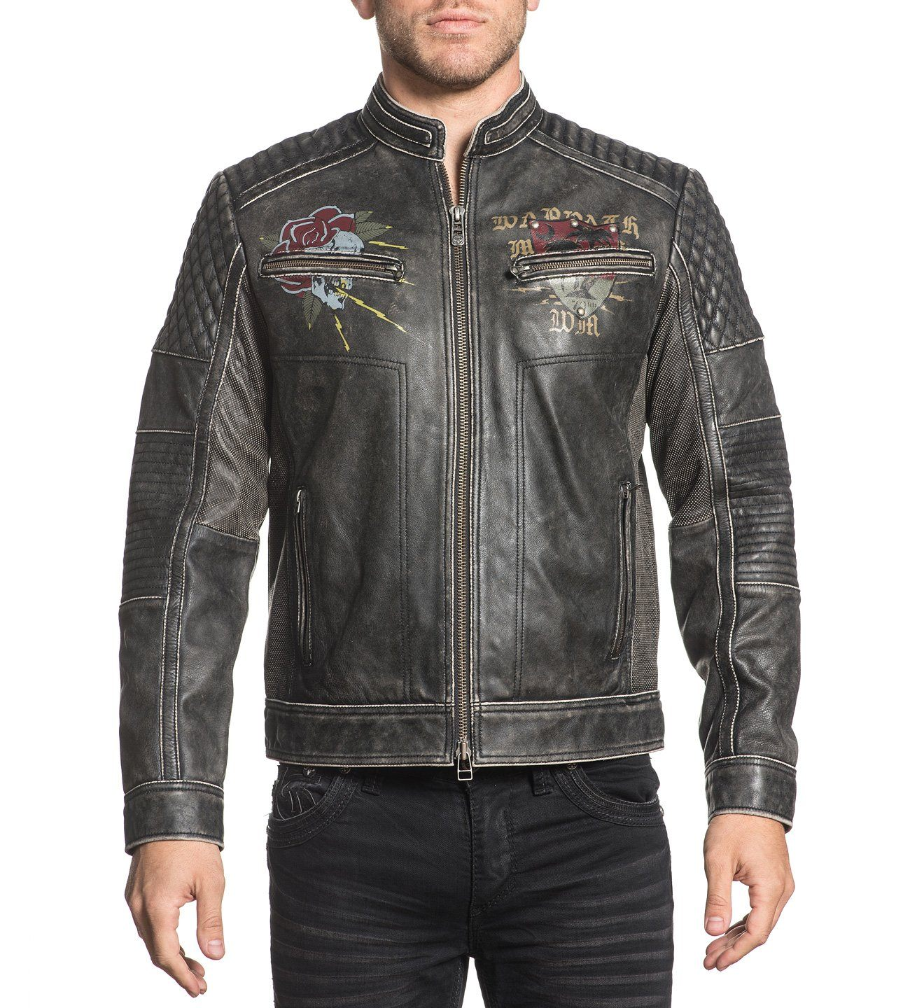 Fast Motors Jacket - Mens Jackets - Affliction Clothing