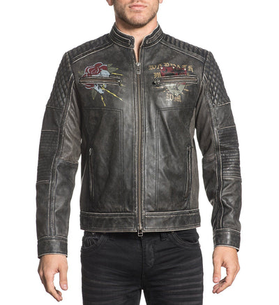 Mens Jackets - Fast Motors Jacket