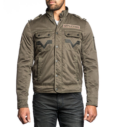Mens Jackets - Invisible Line