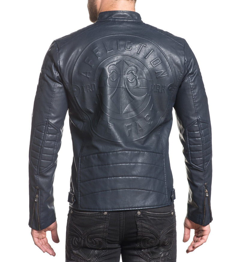 Liberty Moto Jacket - Mens Jackets - Affliction Clothing