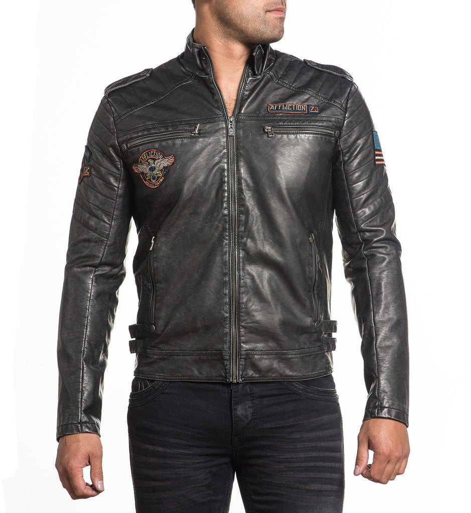 Mens Jackets - Moto Rally