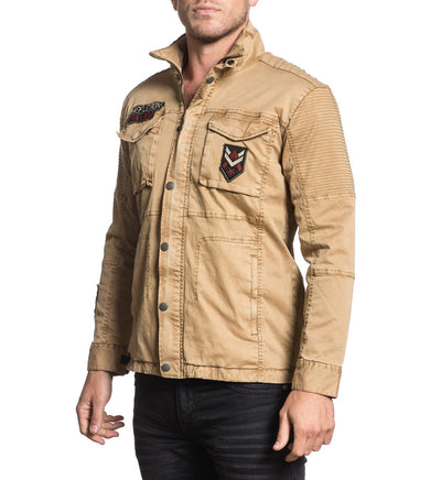 Propaganda Jacket - Mens Jackets - Affliction Clothing