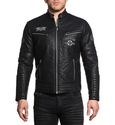 Warrant Jacket - Mens Jackets - Affliction Clothing