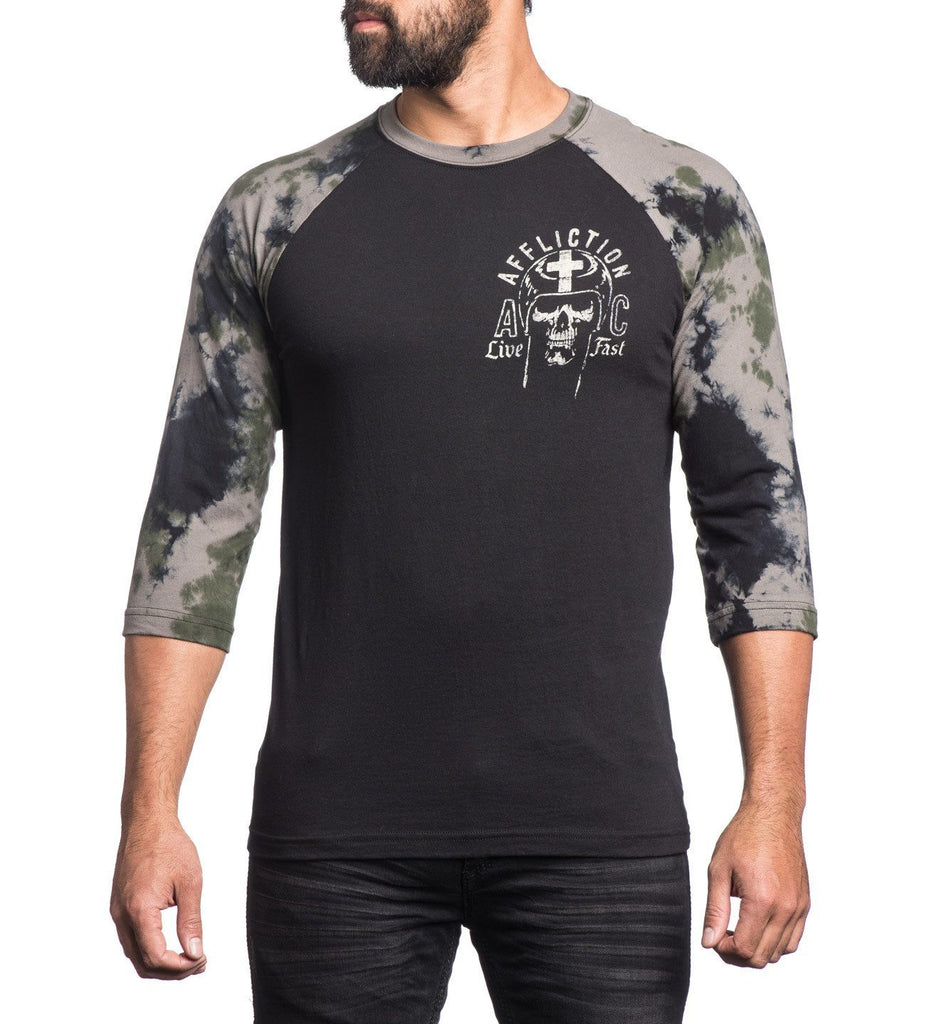 Mens Long Sleeve Tees - Blessed