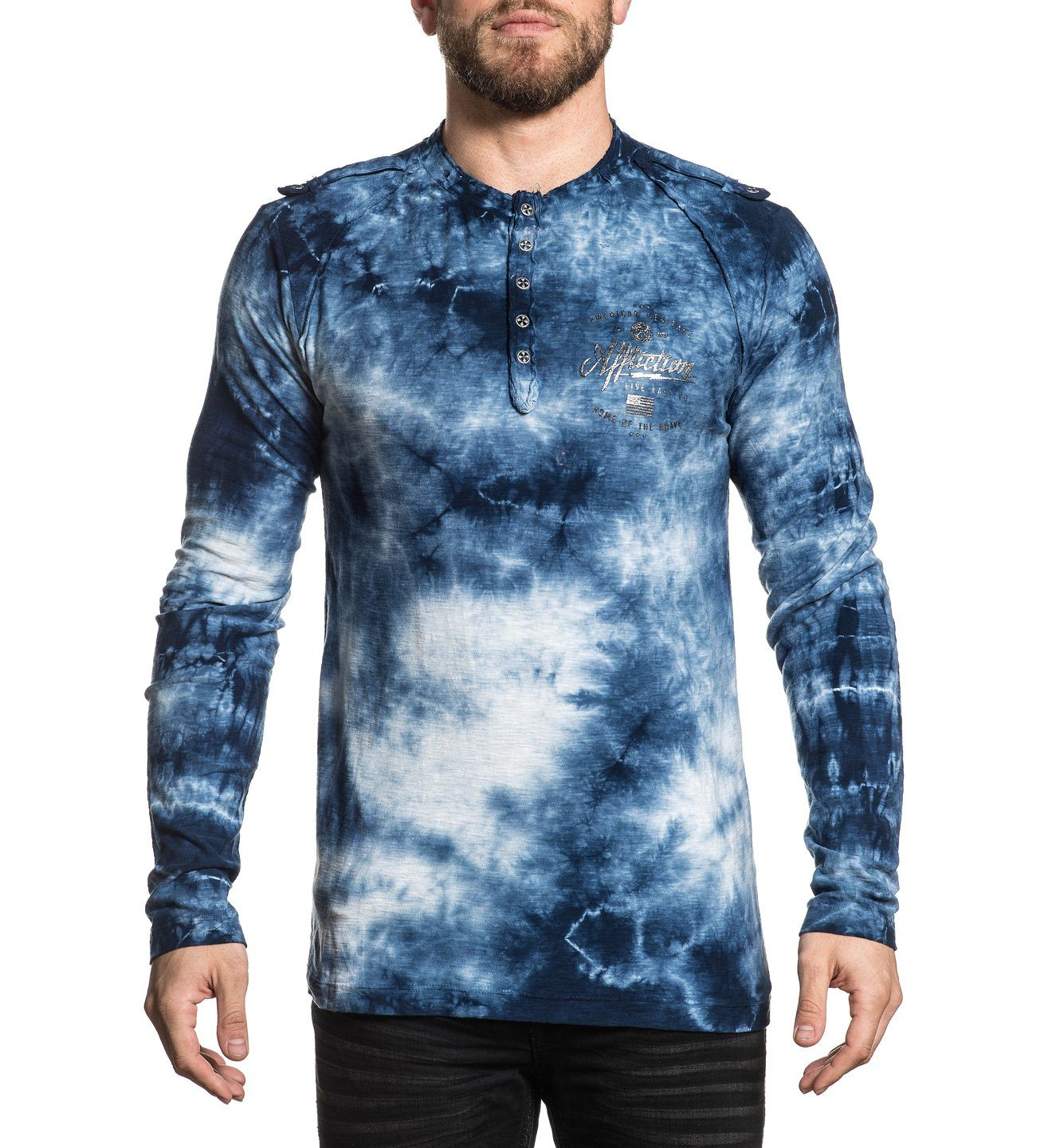 Brave Heritage - Mens Long Sleeve Tees - Affliction Clothing