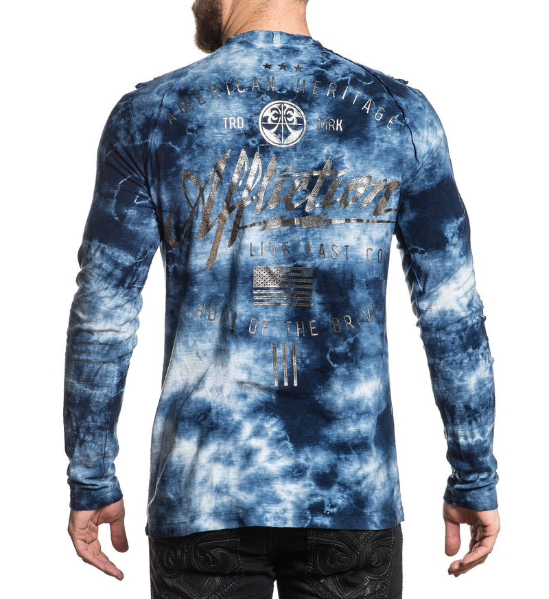 Mens Long Sleeve Tees - Brave Heritage