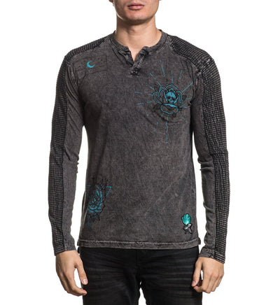 Coroner - Mens Long Sleeve Tees - Affliction Clothing