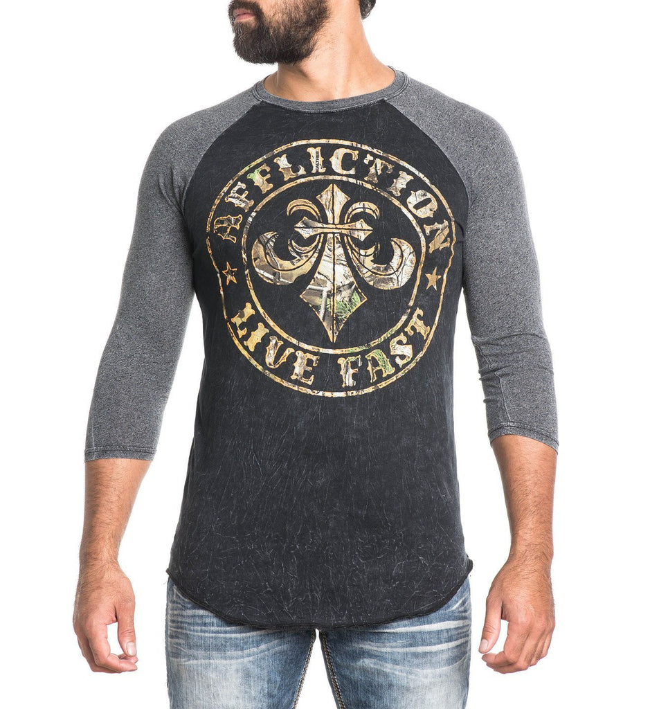 Mens Long Sleeve Tees - Divio Defender