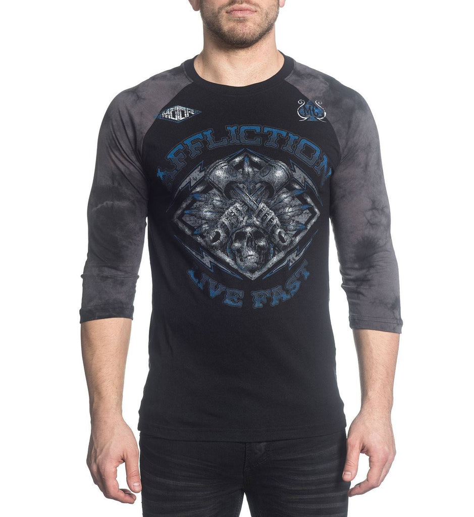 Mens Long Sleeve Tees - Motor Tribe