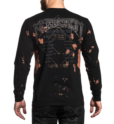 Outlaw Country - Mens Long Sleeve Tees - Affliction Clothing