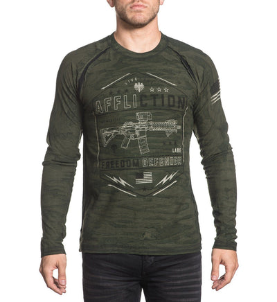 Mens Long Sleeve Tees - Recoil