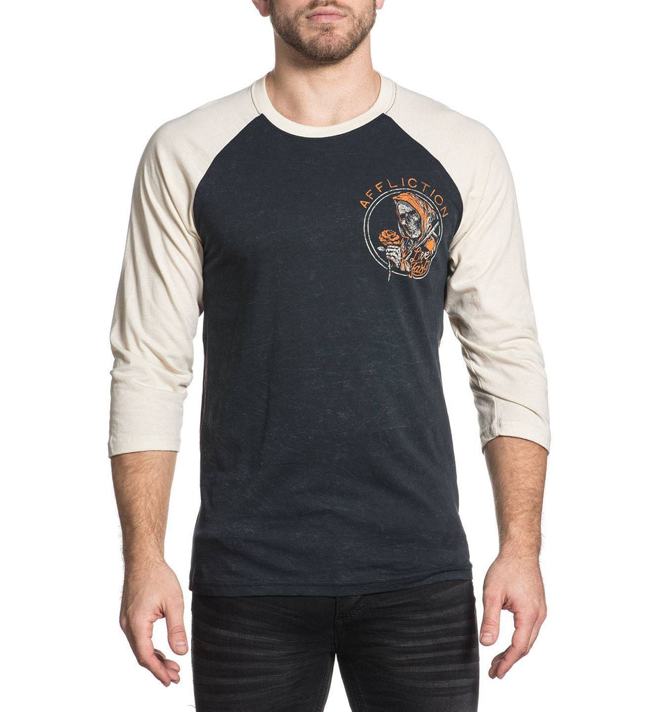 Mens Long Sleeve Tees - Ride Or Die