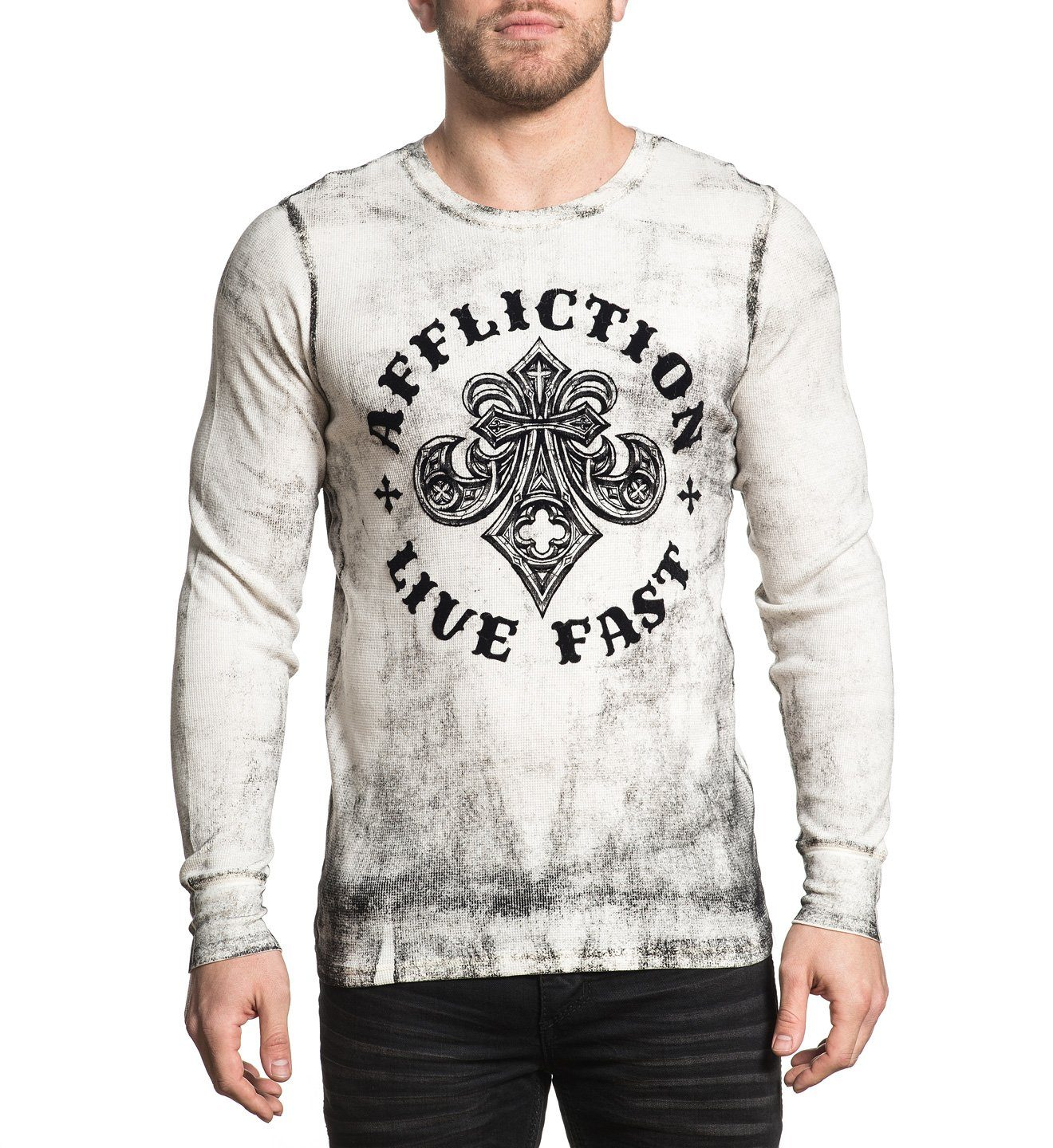 Royale - Mens Long Sleeve Tees - Affliction Clothing