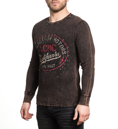Mens Long Sleeve Tees - Screamin Eagle