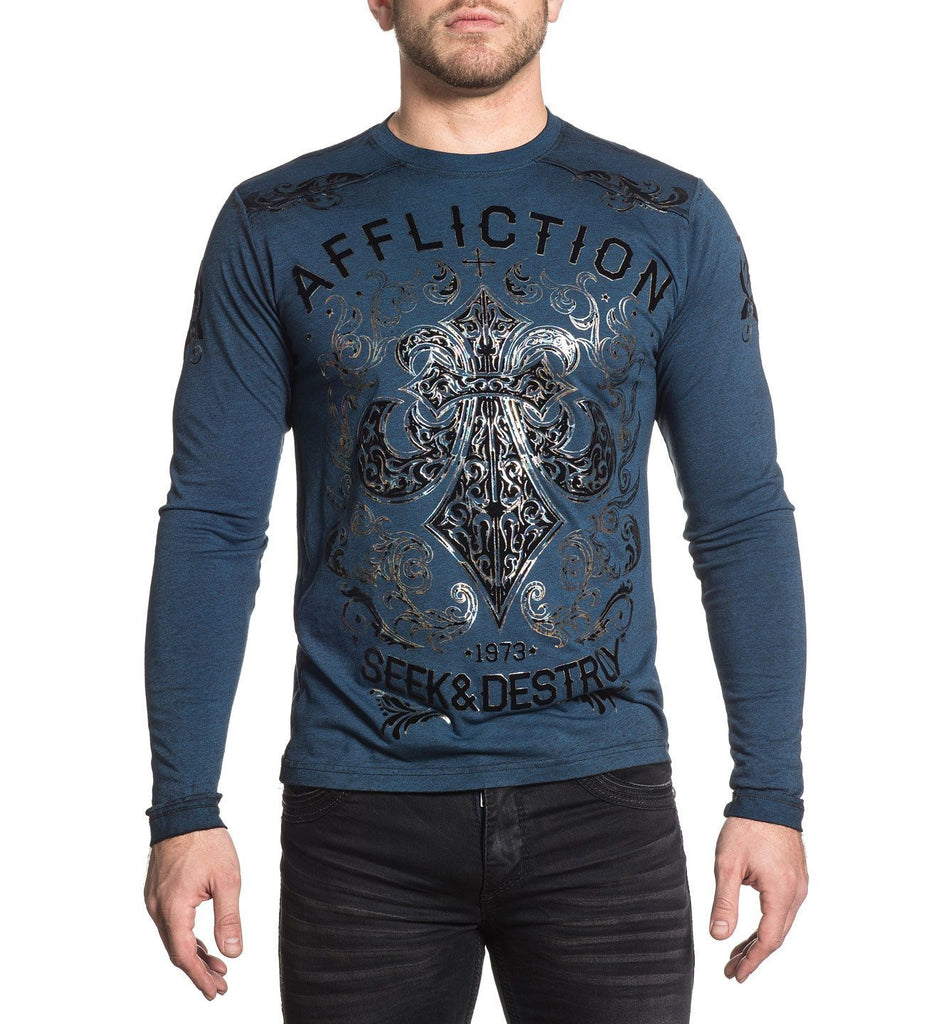 Mens Long Sleeve Tees - Signify