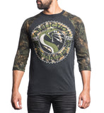 Mens Long Sleeve Tees - Spitfire Raglan