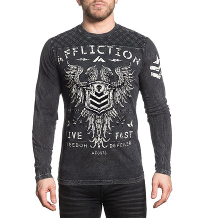 Mens Long Sleeve Tees - Value Freedom