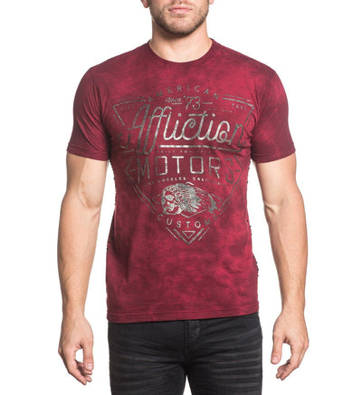 Mens Short Sleeve Tees - AC Cali Motors