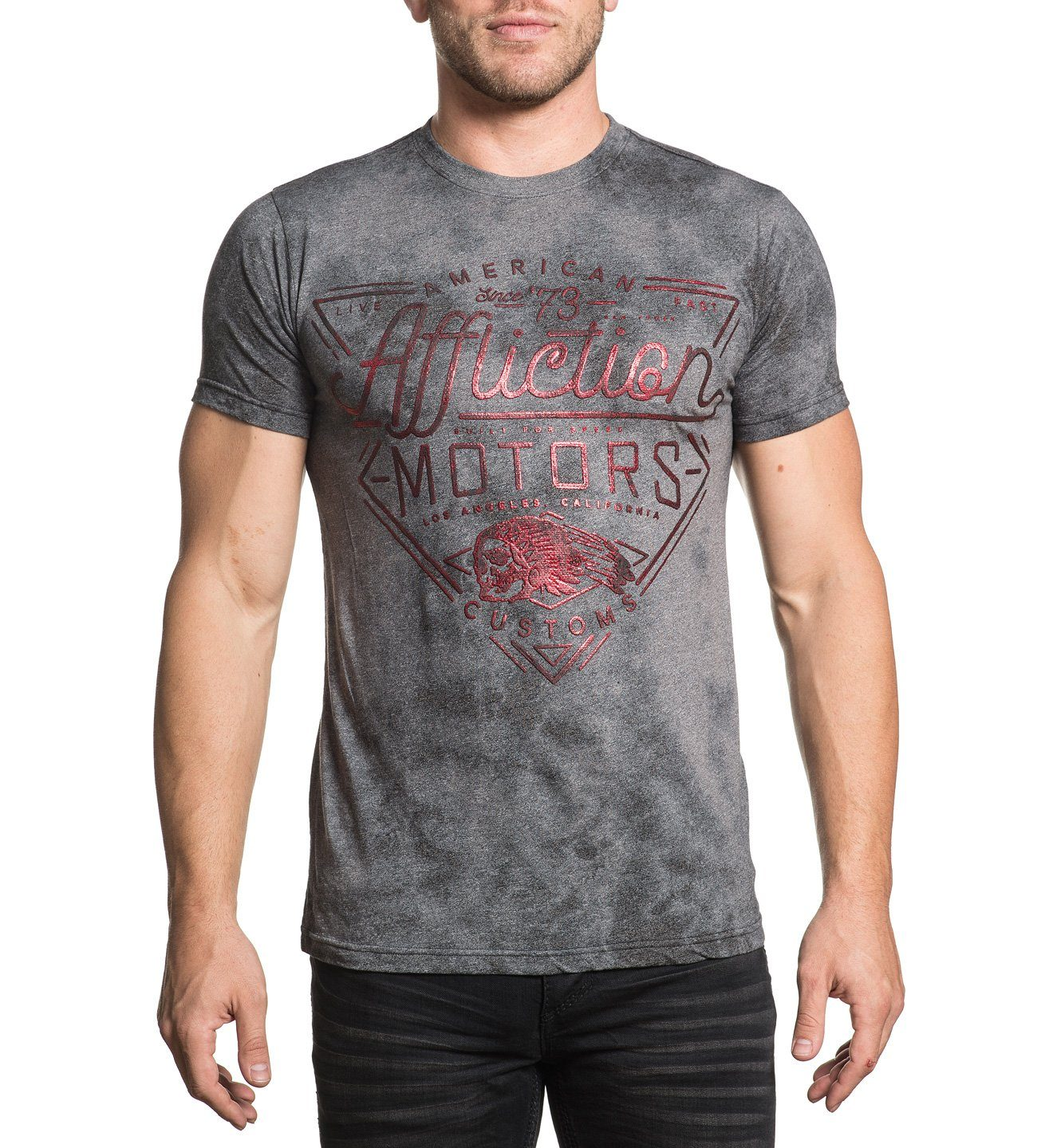 AC Cali Motors - Mens Short Sleeve Tees - Affliction Clothing