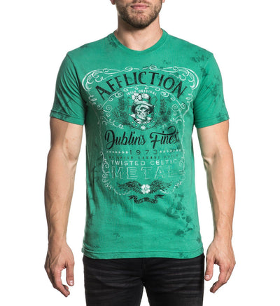 Mens Short Sleeve Tees - Ac Dublin