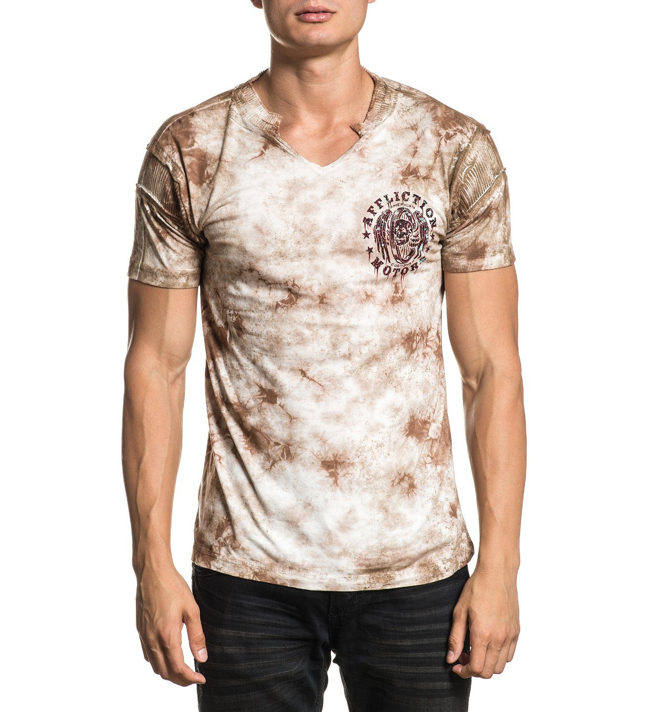 Ac Torque Rust - Mens Short Sleeve Tees - Affliction Clothing