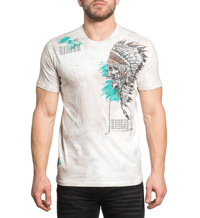 Aces High - Mens Short Sleeve Tees - Affliction Clothing