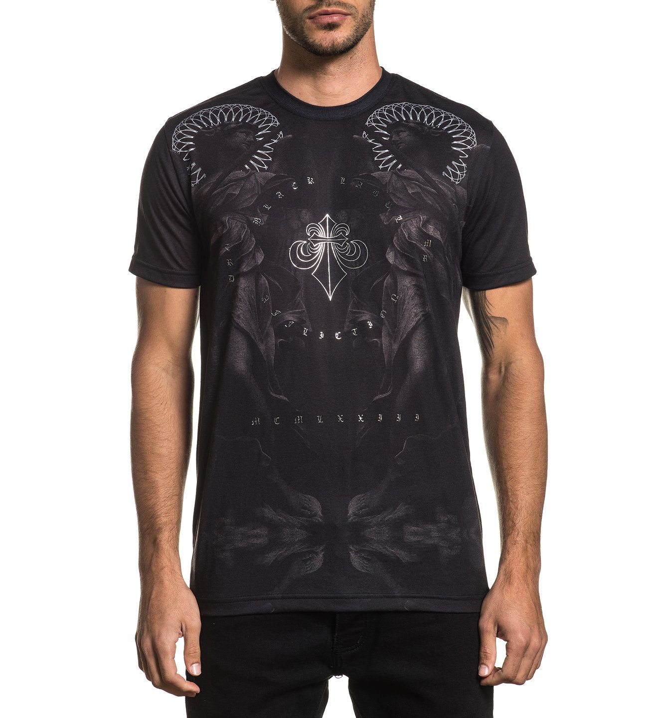 Angel - Mens Short Sleeve Tees - Affliction Clothing