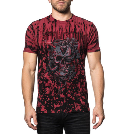 Mens Short Sleeve Tees - Antivenom Tour
