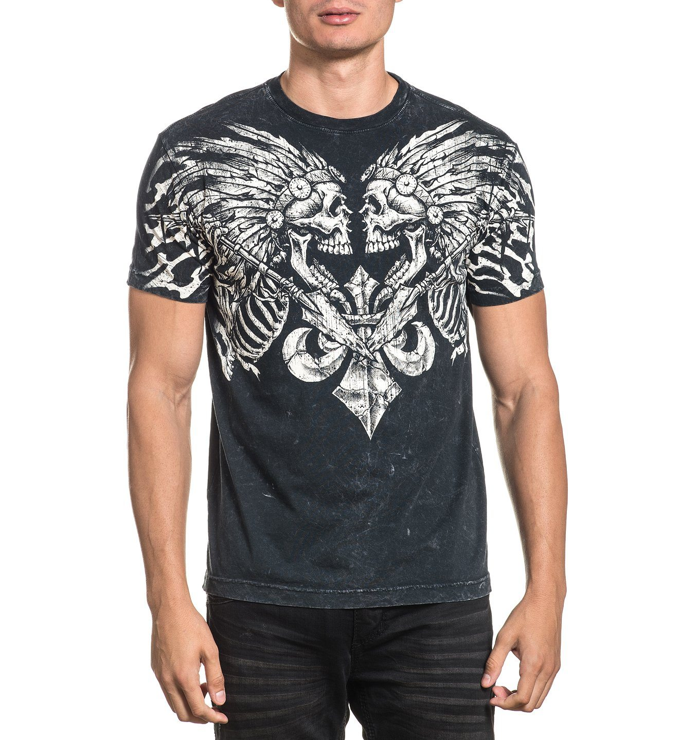 Apache Pride - Mens Short Sleeve Tees - Affliction Clothing