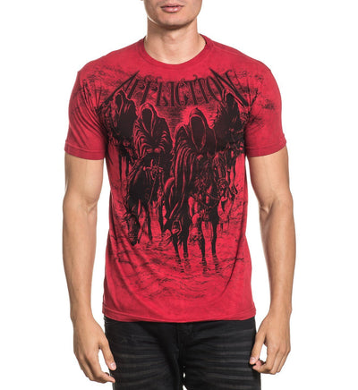 Black Night - Mens Short Sleeve Tees - Affliction Clothing